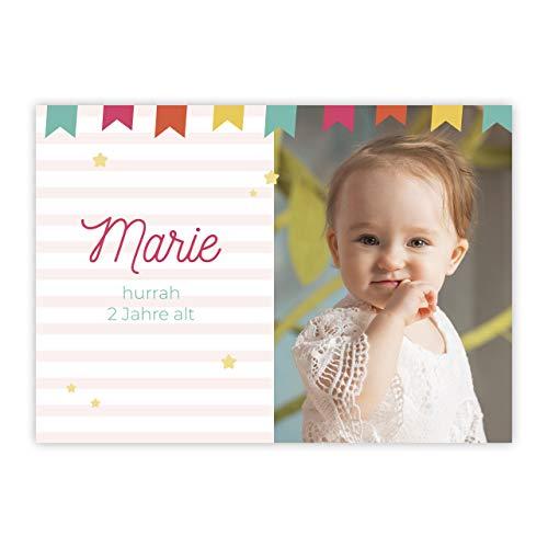 Geburtstagskarte individuell mit Foto für Mädchen und Jungen