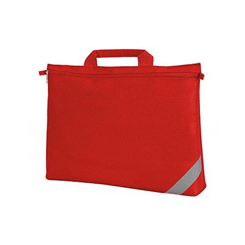 Shugon - Bolsa maletín para documentos (Talla Única/Rojo)