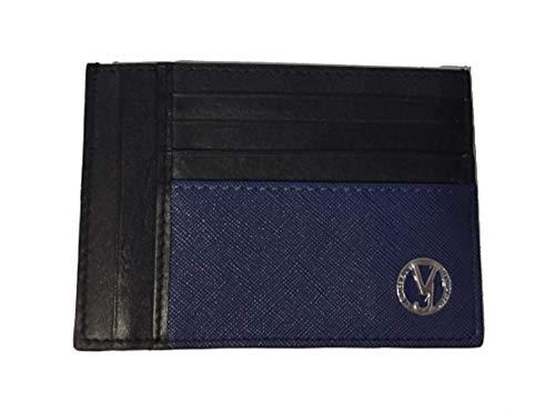 Versace Jeans Tarjetero, color azul y negro E3YRBPB4