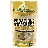 Living Nutz, Walnuts Banana Bread, 3 Ounce