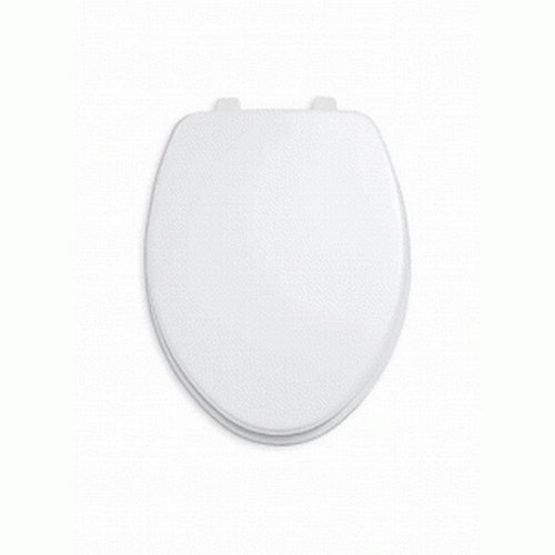 American Standard Rise and Shine Toilettensitz mit Deckel, länglich, vorne offen, 5325024.021