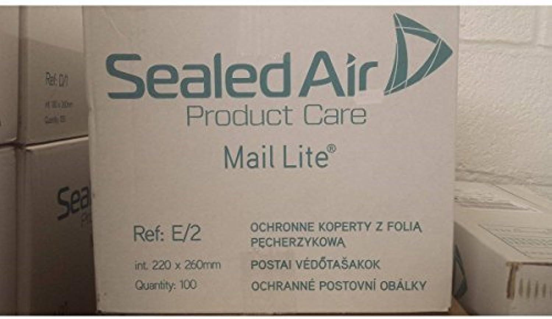 500 x e 2 Mail Lite Sealed Air Gepolsterte Briefumschläge – Weiß (210 x 255 mm) B01DBTTABG    | Niedriger Preis und gute Qualität