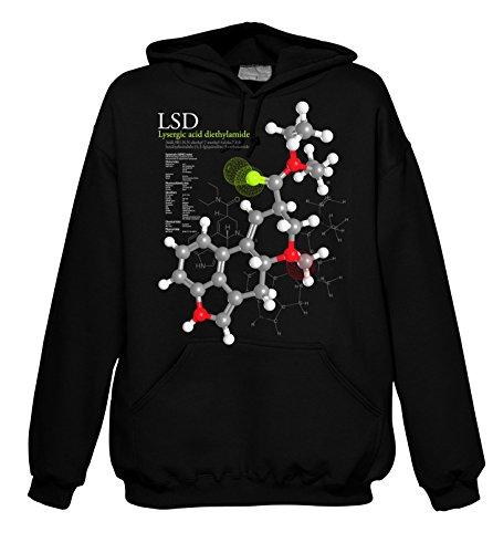 Chameleon Clothing Geek Molecules - LSD 701880 Herren Hood 001 XL