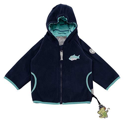Sigikid Baby-Jungen Fleece Jacke, Blau (Dress Blue 235), (Herstellergröße: 74)