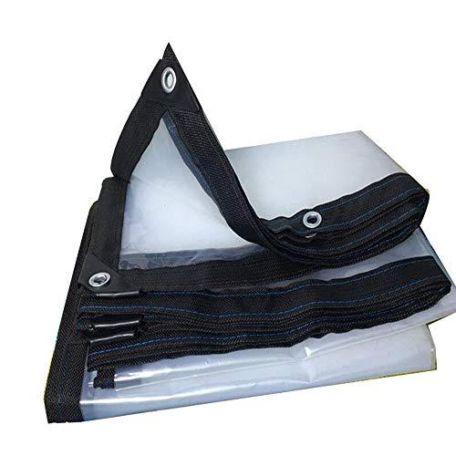 QI-CHE-YI transparante dikke rand geperforeerde waterdichte plastic plaat balkon raam bloem isolatie koude kas film