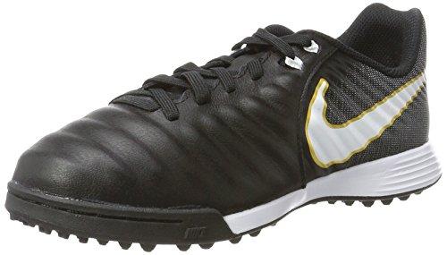 Nike Unisex-Erwachsene Tiempo X Ligera IV TF JR 897729 002 Sneaker, Mehrfarbig (Indigo 001), 35 EU