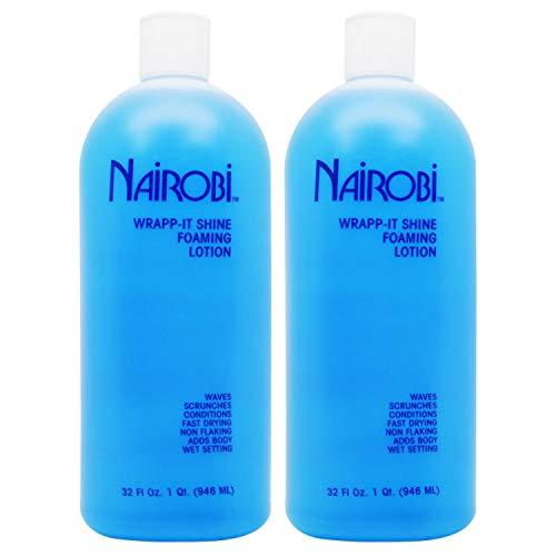 Nairobi Wrapp-It Shine Foaming Lotion 32oz (Pack of 2)