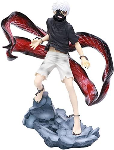 WangMaZi Terror in Tokio Kaneki Ken Animation Comics Figur Statue Modell Spielzeug Fans Geschenk Ornamente 22cm-EIN