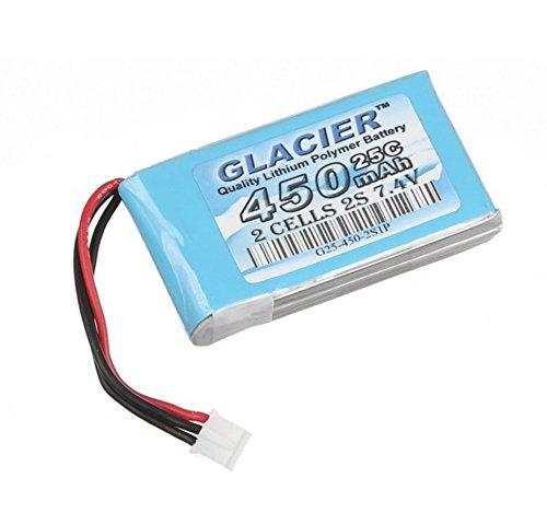 Glacier 25C 450mAh 2S 7.4V LiPo Battery for Blade 130X
