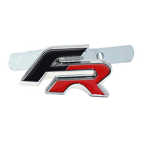 D28JD Logo Emblema para Las Letras de Metal de la Parrilla del radiador Etiqueta engomada para la Marca de FR del Asiento