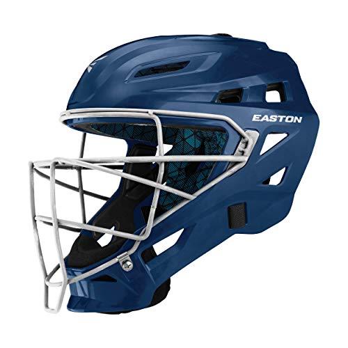 EASTON GAMETIME Baseball Catcher's Helmet, Large, Navy