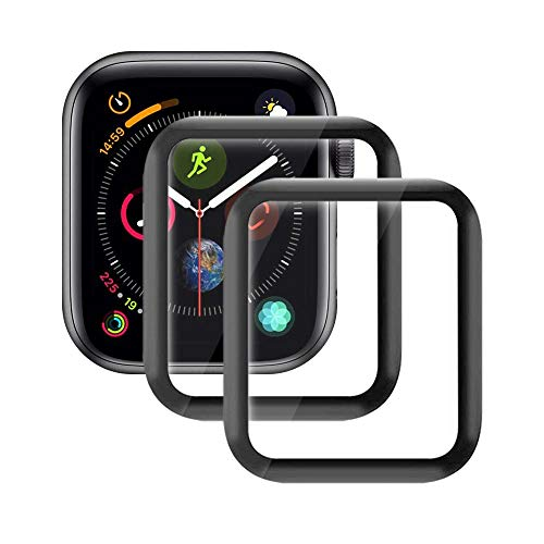Echden Panzerglas Schutzfolie kompatibel mit Apple Watch 42mm Series 3/2/1 Bildschirmschutz 3D Full Screen Panzerglasfolie 9H Hartglas Schutzglas Panzerfolie Tempered Glass Sport, Edition, Nike 2 Pack