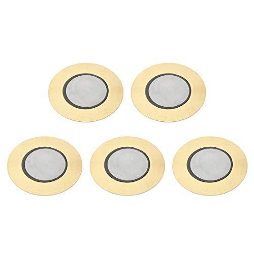Sourcing map Discos piezoeléctricos 41 mm Pastilla