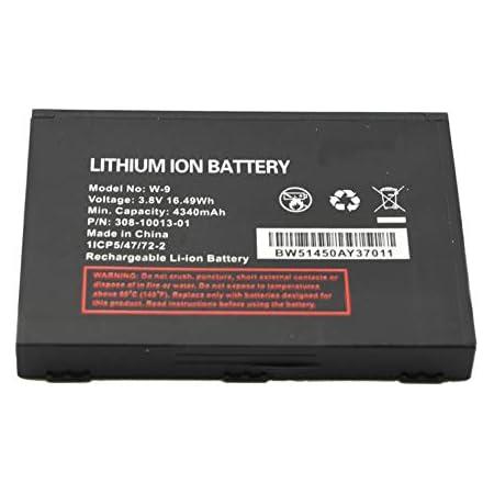 Replacement Battery for Netgear Verizon Jetpack W-9 W9 AC791L AC815 AT&t Unite Explore Mobile WiFi Hotspot Repair Part Fix Dead Power Issue