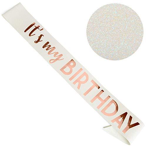 Cintas 40 Cumpleaños  marca CORRURE