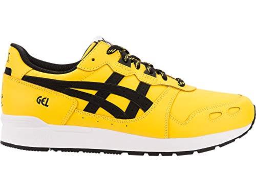 ASICS Mens Gel-Lyte Tai Chi Yellow/Performance Black Running Casual Shoes