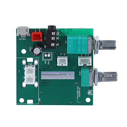 Tangxi 2.1-kanaals eindversterkerkaart, 20 W (bas 10 W + subbox 10 W (5 W * 2) Bluetooth 5.0 5 V digitale AMP-kaartmodule voor thuisbioscoop en actieve luidsprekers