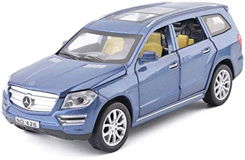 Hyzb Auto-Modell 1,32 Mercedes Benz GL500 Simulation Legierung Druckguss-Spielzeug Ornamente Sports Car Collection...
