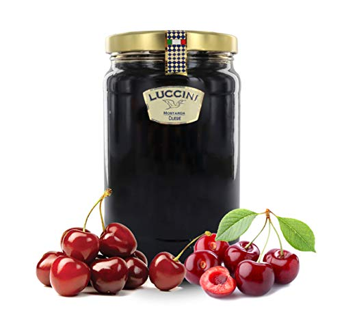 Luccini Mostarda Kunsthandwerk Kirschen, 2 kg, Mostarde – Früchte von höchster Qualität