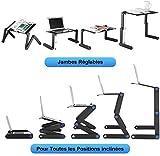 Zoom IMG-1 QIYUE Ordinateur portable Table Bureau