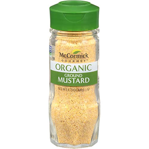 McCormick Gourmet Organic Ground Mustard, 1.75 oz