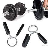 YC Hanteln Dumbbell Fitness Hanteln Hantel Anti-Shedding Clip Training Federklammer Clips for Hantel...