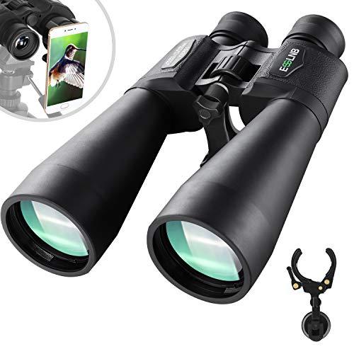 ESSLNB Giant Binoculars Astronomy 15X70 with Phone Adapter Tripod Adapter and Carrying Bag FMC Waterproof Binoculars for Adults Kids