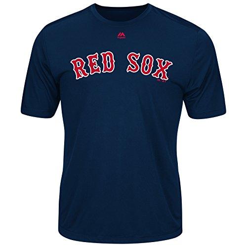 Majestic Men's Cool Base MLB Evolution Shirt Boston Red Sox XL