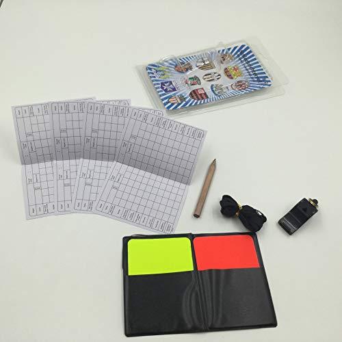 BN Cartellino Rosso Giallo La Partita di Calcio Arbitro Carte Rosse E Gialle Cartellini Arbitro Calcio Calcio Judge Flipping Card Set