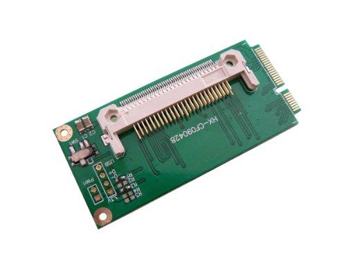Kalea Informatique Compact Flash Adapter Konverter->Mini PCIE wie eine CF SSD auf einem Asus EEEPC 901, 900A Inverted Version