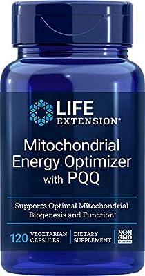 Life Extension Mitochondrial Energy Optimiser with Bio PQQ, 120 Capsules