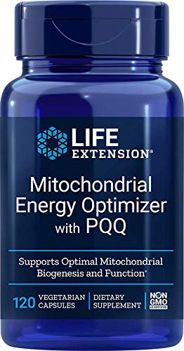 Life Extension Mitochondrial Energy Optizmer With BioPQQ Capsules, 120 Count
