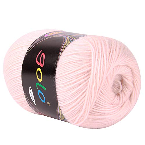 golo Cashmere Yarn for Knitting (Light Pink) Wool Yarn for Hand Knitting