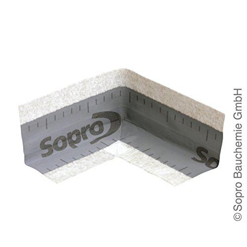 Sopro Dichtecke innen/außen DE 014/DE 015 - systemgeprüft, alkalibeständig, vorgeformete Fertigecken