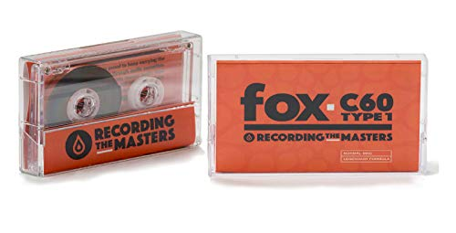 Recording The Masters Fox C60 TYPE 1 Audio-Kassetten, 10 Stück