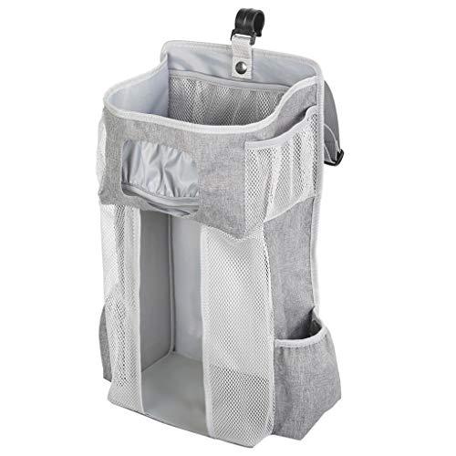 YO-HAPPY Organizador apilador, Organizador apilador de pañales Bolsas de Almacenamiento Colgantes para Cuna o Pared Regalos para Baby Shower