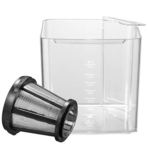 Juicer Accessories, AICOK Cups and Filters for Masticating Juicer