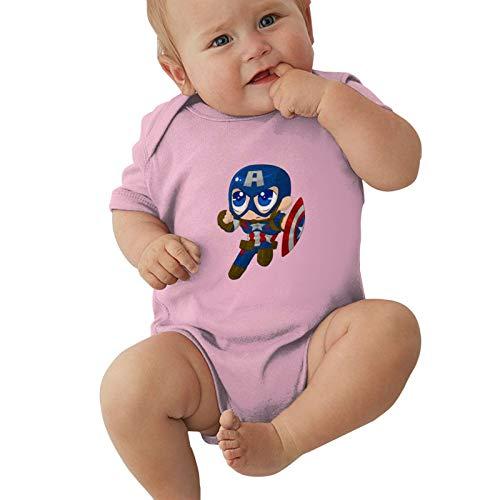 Hulk-Iron-Man Baby Boys Pijama Unisex Romper Baby Girls Body Infant Kawaii Jumpsuit Outfit 0-2t Niños,Rosa,0-3 Meses