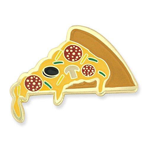 PinMart Slice of Pizza Culinary Food Enamel Lapel Pin