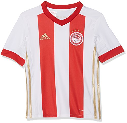 2017-2018 Olympiakos Adidas Home Shirt (Kids)