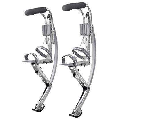 Skyrunner-Authorized Esebiz - Zancos saltadores (70-90 kg), color plateado
