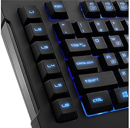 Sharkoon Skiller Pro USB QWERTY Inglese US Nero - Trova i prezzi più bassi