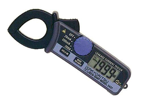 共立電気計器(KYORITSU)2431キュースナップ・漏れ電流・負荷電流測定用クランプメータ