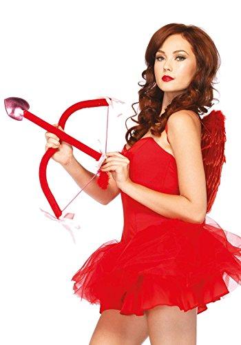 Leg Avenue- Mujer, Color rojo, Talla Única (EUR 36-40) (204022003)