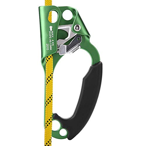 Ascenso de Escalada, Dispositivo de Escalada Abrazadera de Mano Derecha para Cuerda...