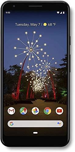 "Google Pixel 3A XL (2019) G020B 64GB (6"" inch, GSM, 4G/LTE, CDMA) Factory Unlocked Smartphone - International Version (Just Black) WeeklyReviewer"
