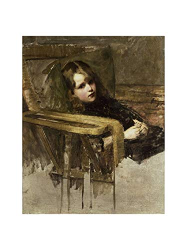 J. William Waterhouse - The Easy Chair no date. Print 60x80cm