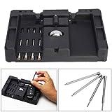 RICKYZHU Car Flip Key Vice Fixing Tool Pin Remove Tool Kit for Car Door Key Repair Useful