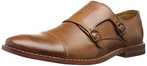 Call It Spring Men's Lovirani Monk Strap, Light Brown, 9 D US