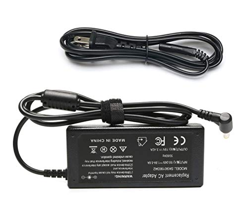 19v 3.42A 65W Laptop Charger AC Adapter for Toshiba Satellite C55 C655 C850 C50 L755 C855D L655 L745 P50 C55D S55;Toshiba Portege Z30 Z930 Z830 Satellite Radius 11 14 15 AC DC Power Supply Cord